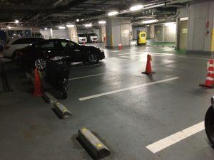 千代田区役所バイク駐輪場1