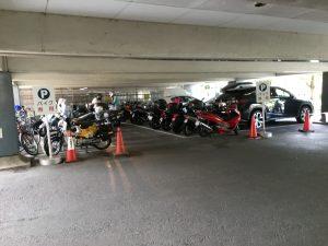 葛飾区バイク駐輪場