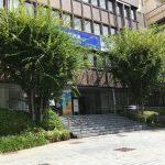江戸川区役所入り口