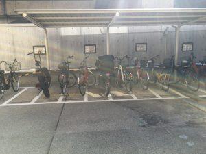 品川区役所利用者用駐輪場