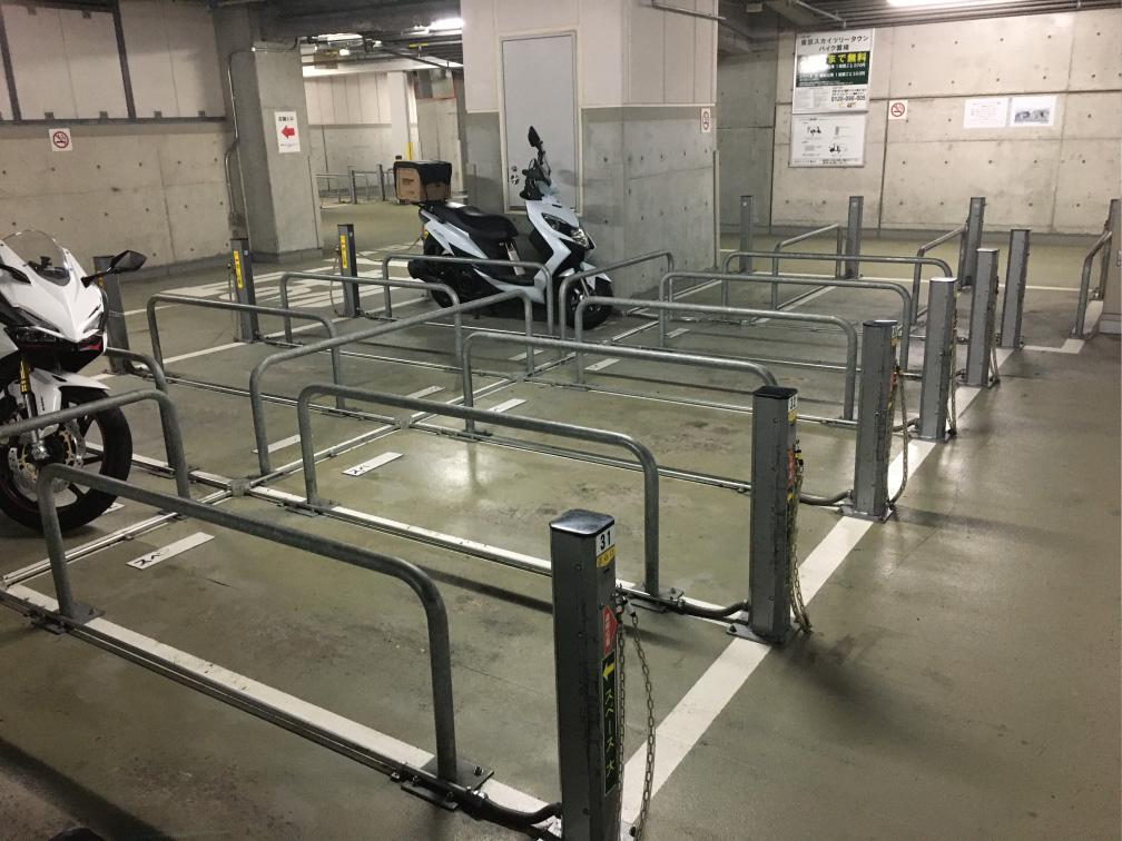 ソラマチ西駐車場