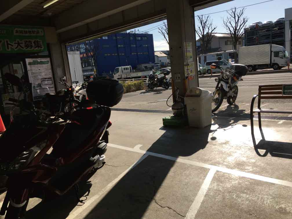 一之江2りんかんバイク駐輪場
